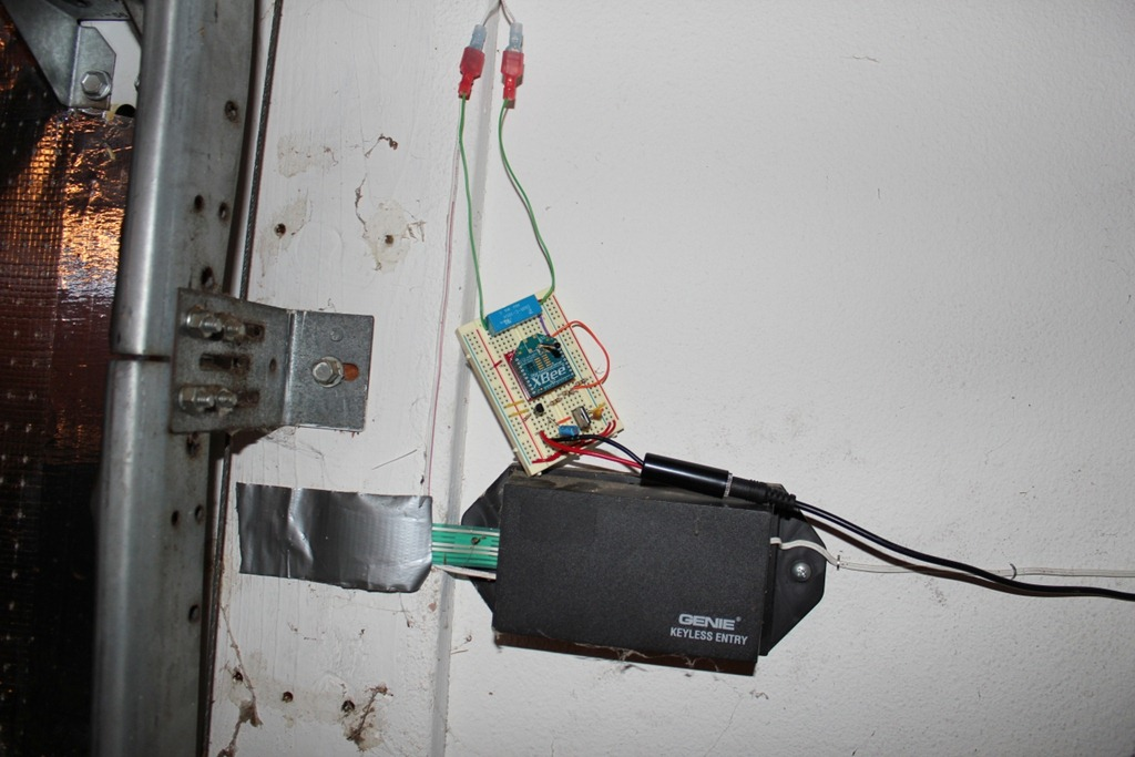 was wall opener voltage garage enabled switch genie door disconnect the